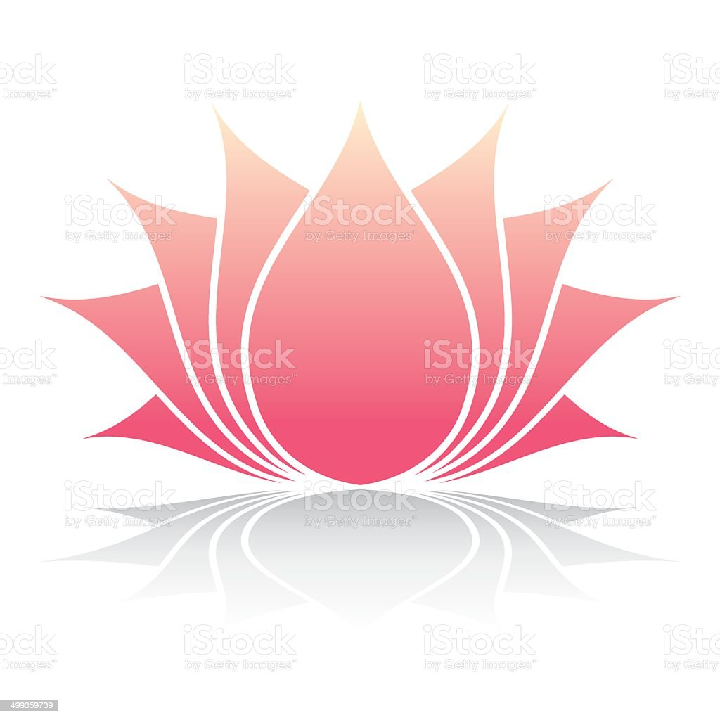 Lotus Flower Stock Vector Art More Images Of Computer Graphic