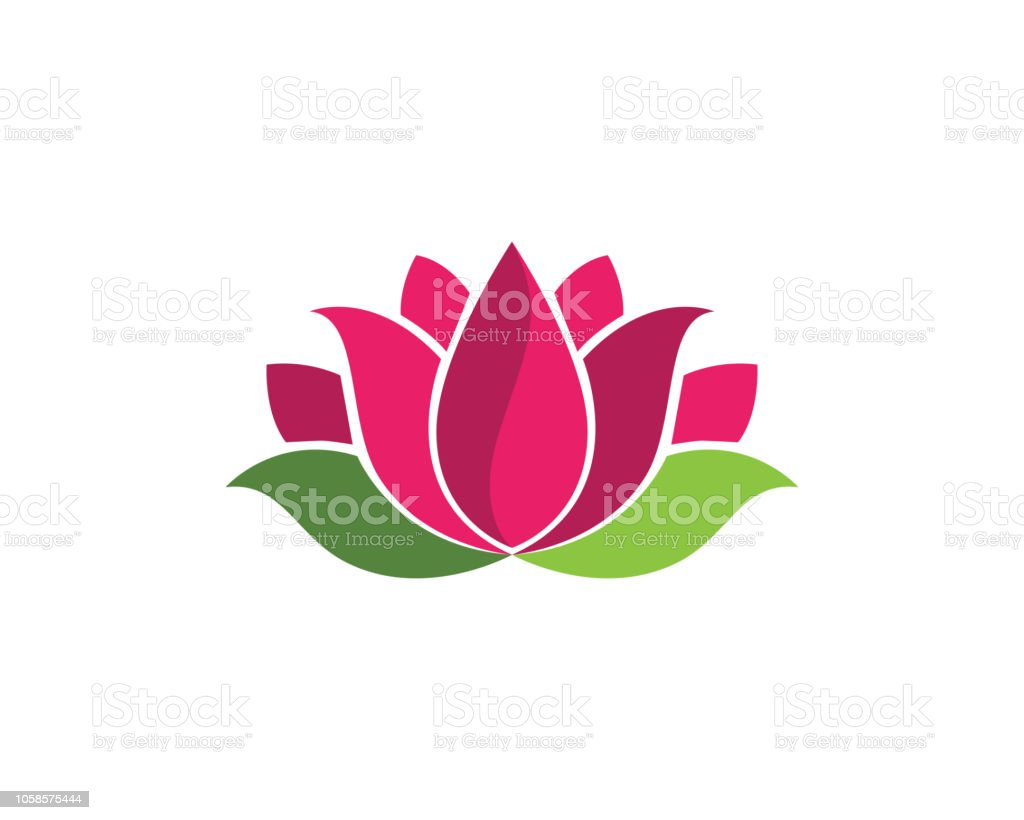 Lotus Flowers Design Stock Vector Art More Images Of Abstract Istock