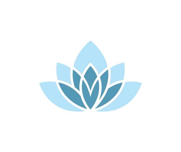 bildbanksillustrationer, clip art samt tecknat material och ikoner med lotus-ikonen - spa