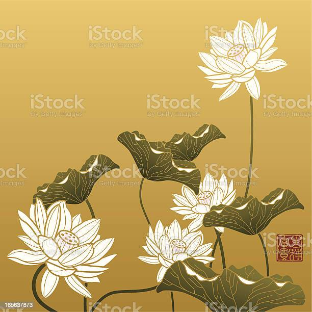 Lotus painting vector id165637873?b=1&k=6&m=165637873&s=612x612&h=eqmritpds0pfyfi8znln m0mliegolzcow qk2d75ga=