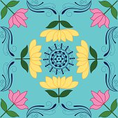 Self illustrated Lotus Rangoli Design.Please see some similar pictures from my portfolio: