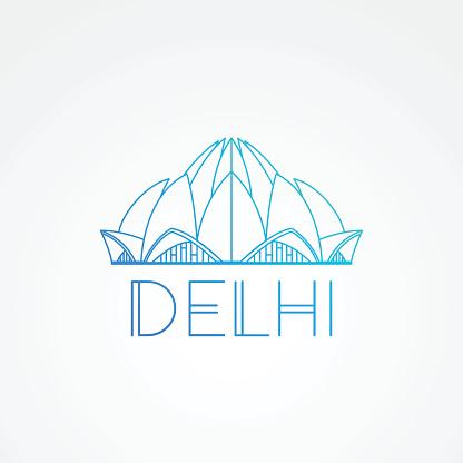 Lotus Temple - the symbol of India, Delhi