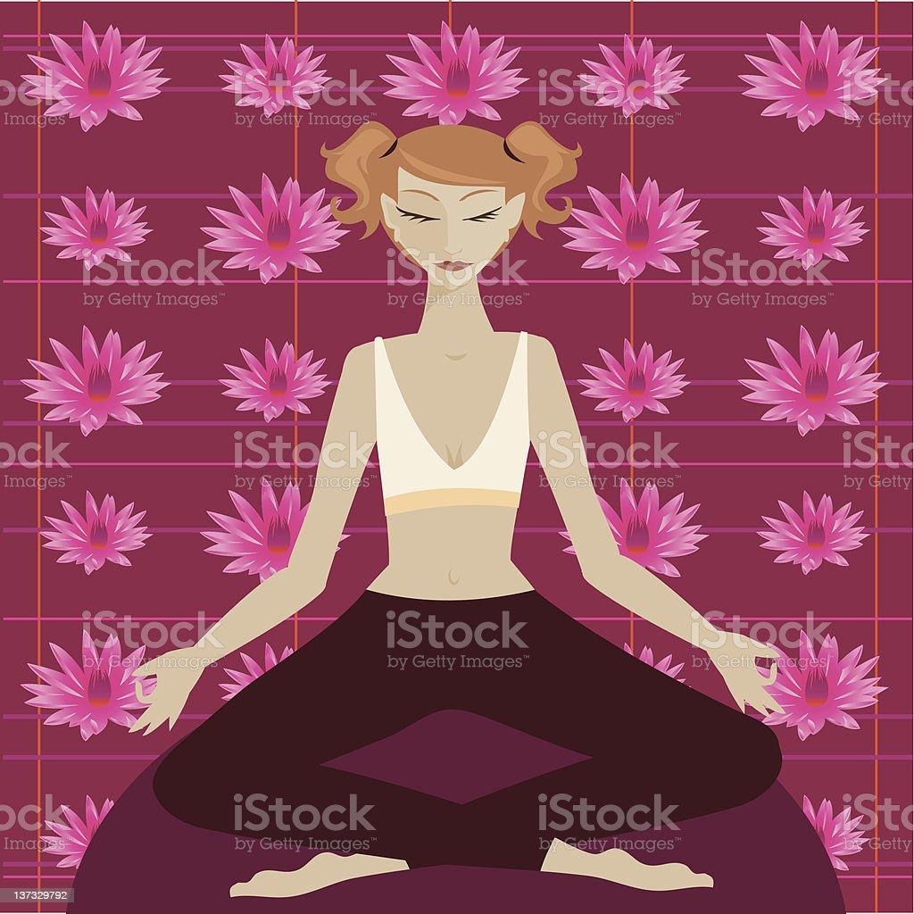 Lotus royalty-free lotus stock vector art & more images of adult