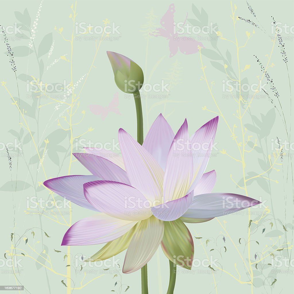 Lotus royalty-free lotus stock vector art & more images of abstract