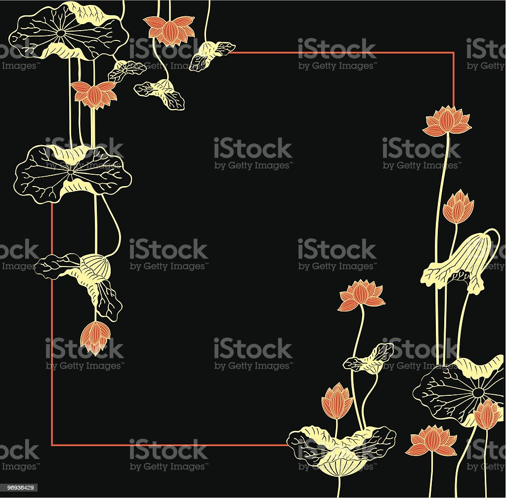 lotus royalty-free lotus stock vector art & more images of backgrounds