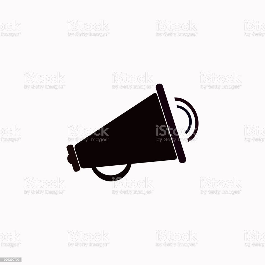 loudspeaker vector icon stock illustration download image now istock loudspeaker vector icon stock illustration download image now istock