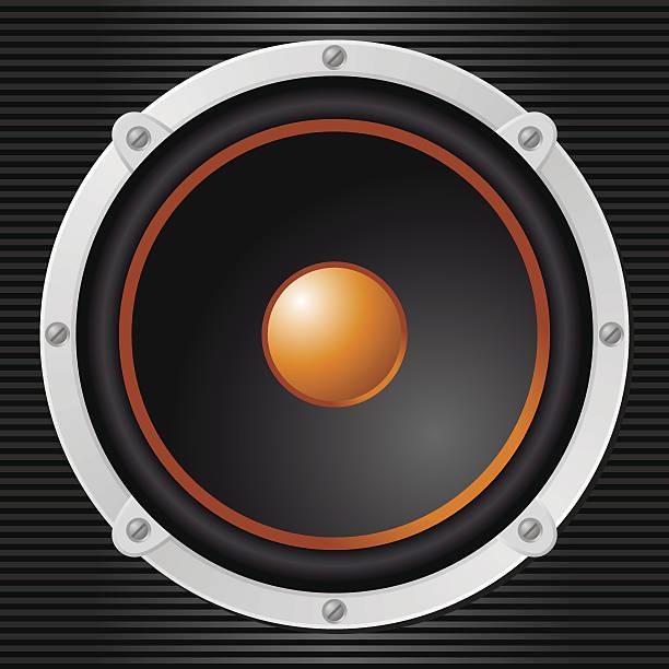 Loudspeaker vector art illustration