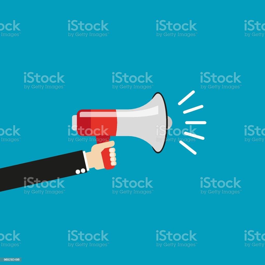 Loudspeaker loudspeaker - stockowe grafiki wektorowe i więcej obrazów baner royalty-free