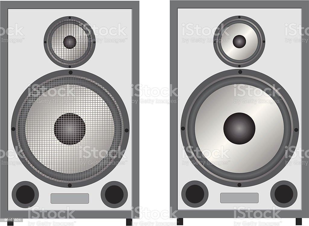 Loudspeakers royalty-free loudspeakers stock vector art & more images of audio equipment