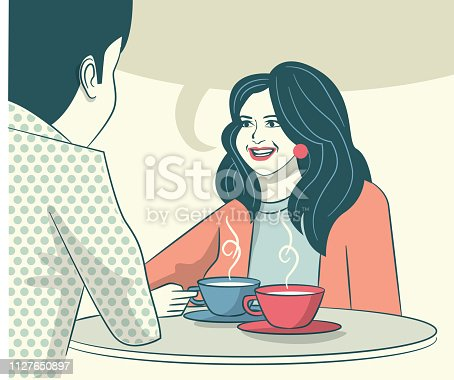 istock Lounge Bar Cafeteria Chat 1127650897