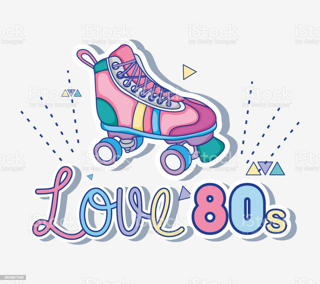 I love 80s cartoons royalty-free i love 80s cartoons stock vector art & more images of 1980