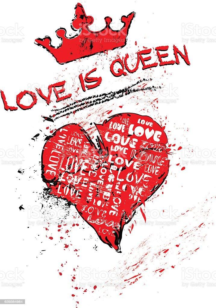Love amd heart,