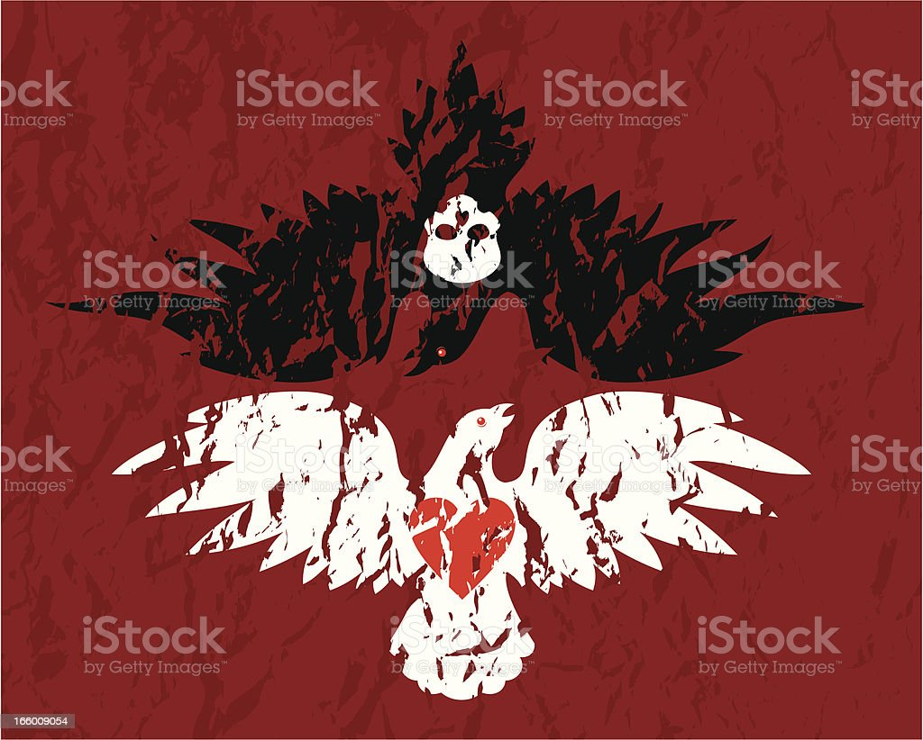 Love and death royalty-free stock vector art