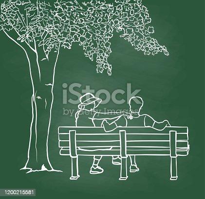 istock Love And Understanding Chalkboard 1200215581
