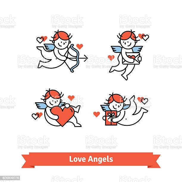 Love angels cupid boys with presents and gifts vector id626839276?b=1&k=6&m=626839276&s=612x612&h=audqhpej76p3gnj2xbt3cmfqxrvx7dgwbrxbmizp1om=