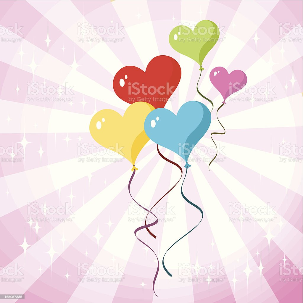 Love Balloons royalty-free love balloons stock vector art & more images of arts culture and entertainment