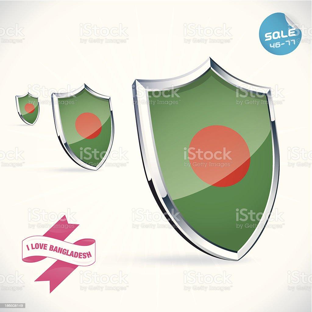 I Love Bangladesh Flag Illustration royalty-free i love bangladesh flag illustration stock vector art & more images of coat of arms