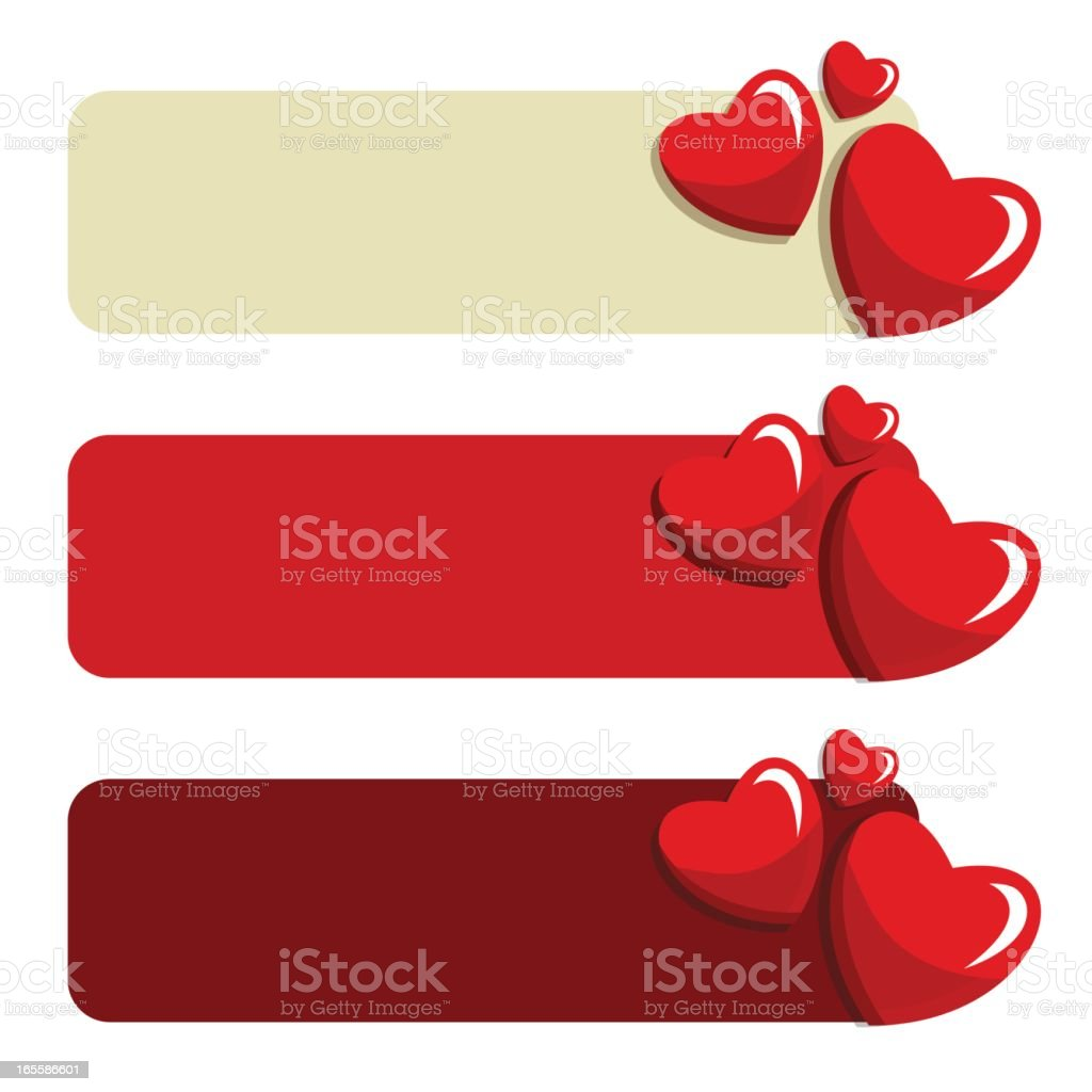 Love banners royalty-free love banners stock vector art & more images of abstract