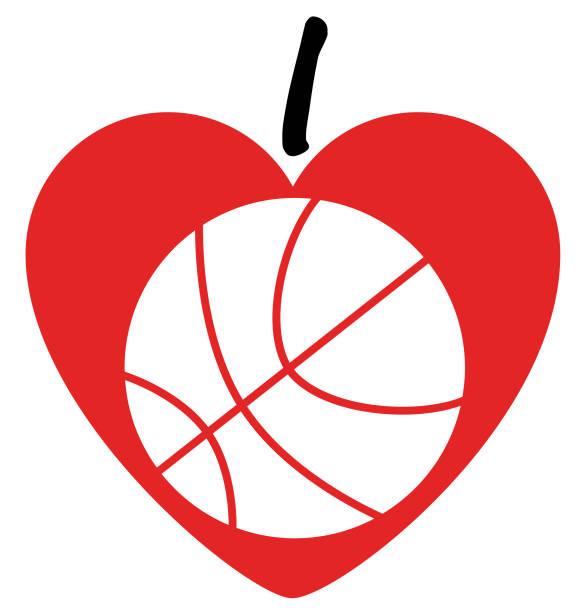 Download Heart Basketball Illustrations, Royalty-Free Vector ...