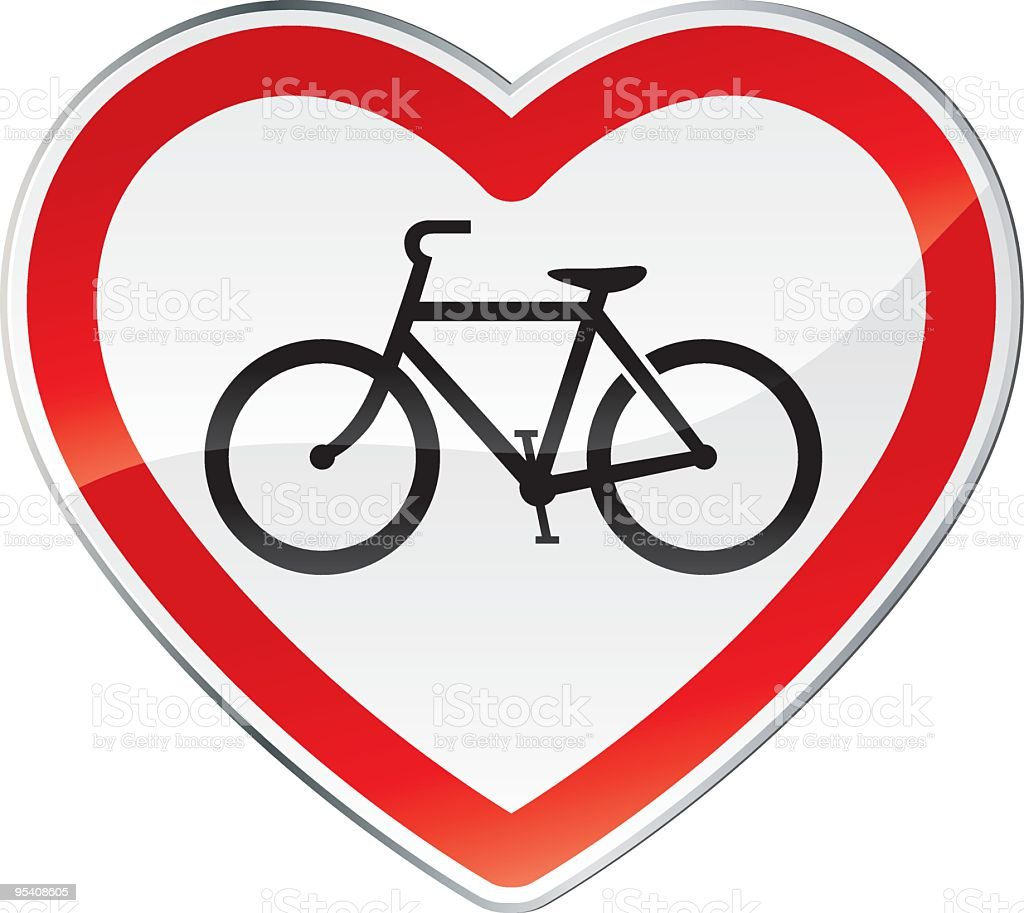 Love Bike Stock Vector Art More Images Of After Work 95408605 Istock
