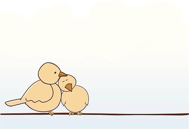 love birds - heather mcgrath stock illustrations