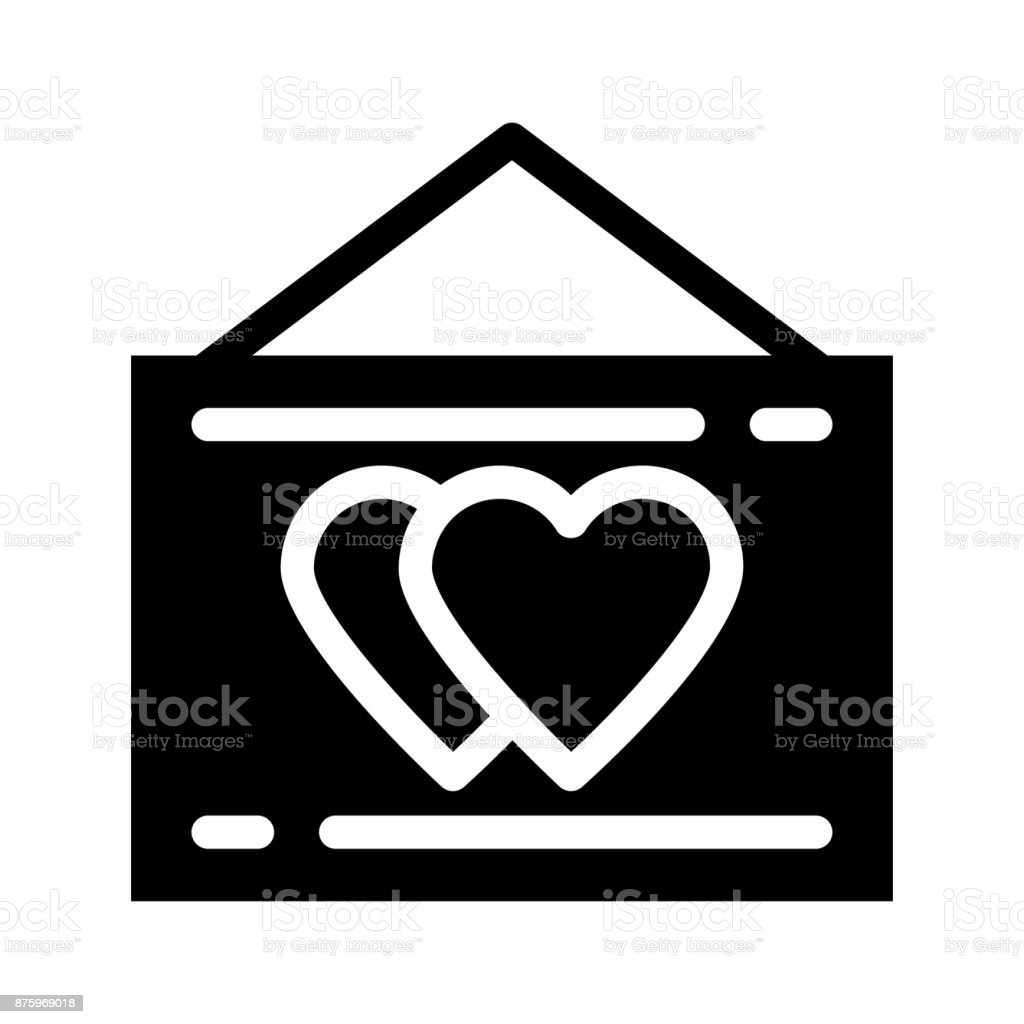 love board Glyphs Vector Icon vector art illustration