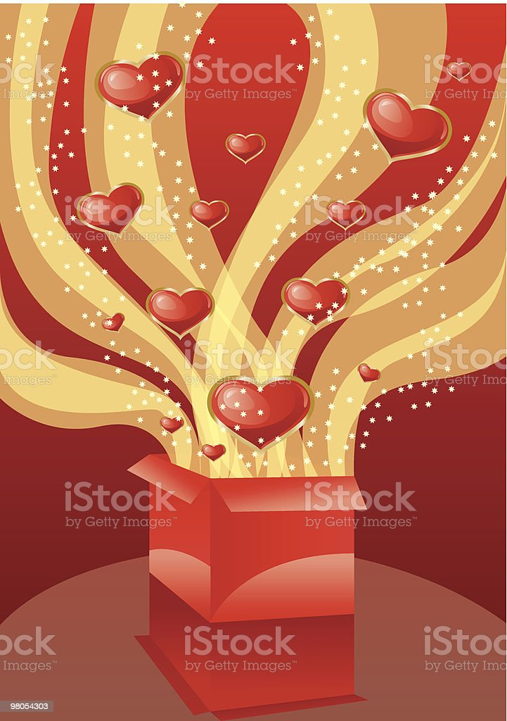 Love box royalty-free love box stock vector art & more images of anniversary