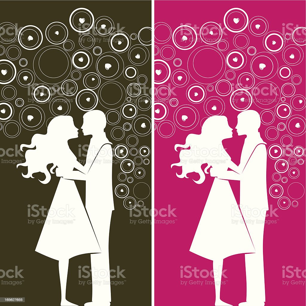 Love bubbles royalty-free stock vector art