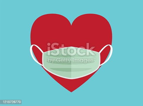 mask, Multi-Ethnic Group, Heart Shape, Circle, Conceptual Symbol