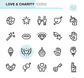 Love & Charity - Pixel Perfect icons