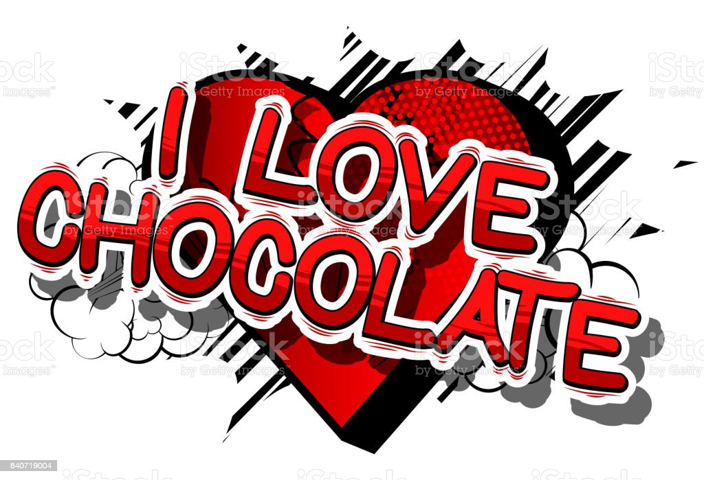 I Love Chocolate Stock Vector Art & More Images of ...