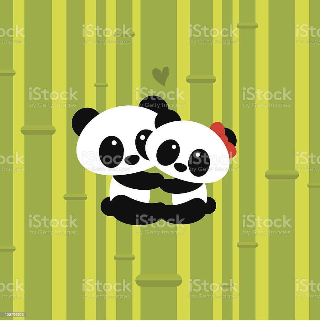 Love climbing. Pandas inlove cute royalty-free love climbing pandas inlove cute stock vector art & more images of animal