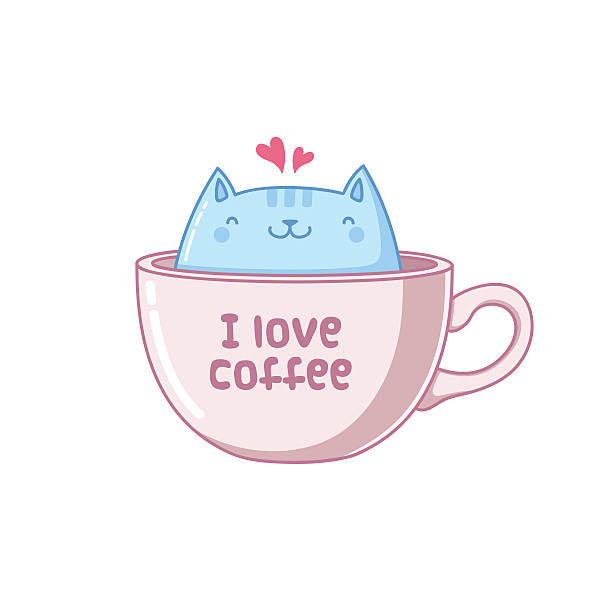 Royalty Free I Love Coffee Clip Art, Vector Images ...