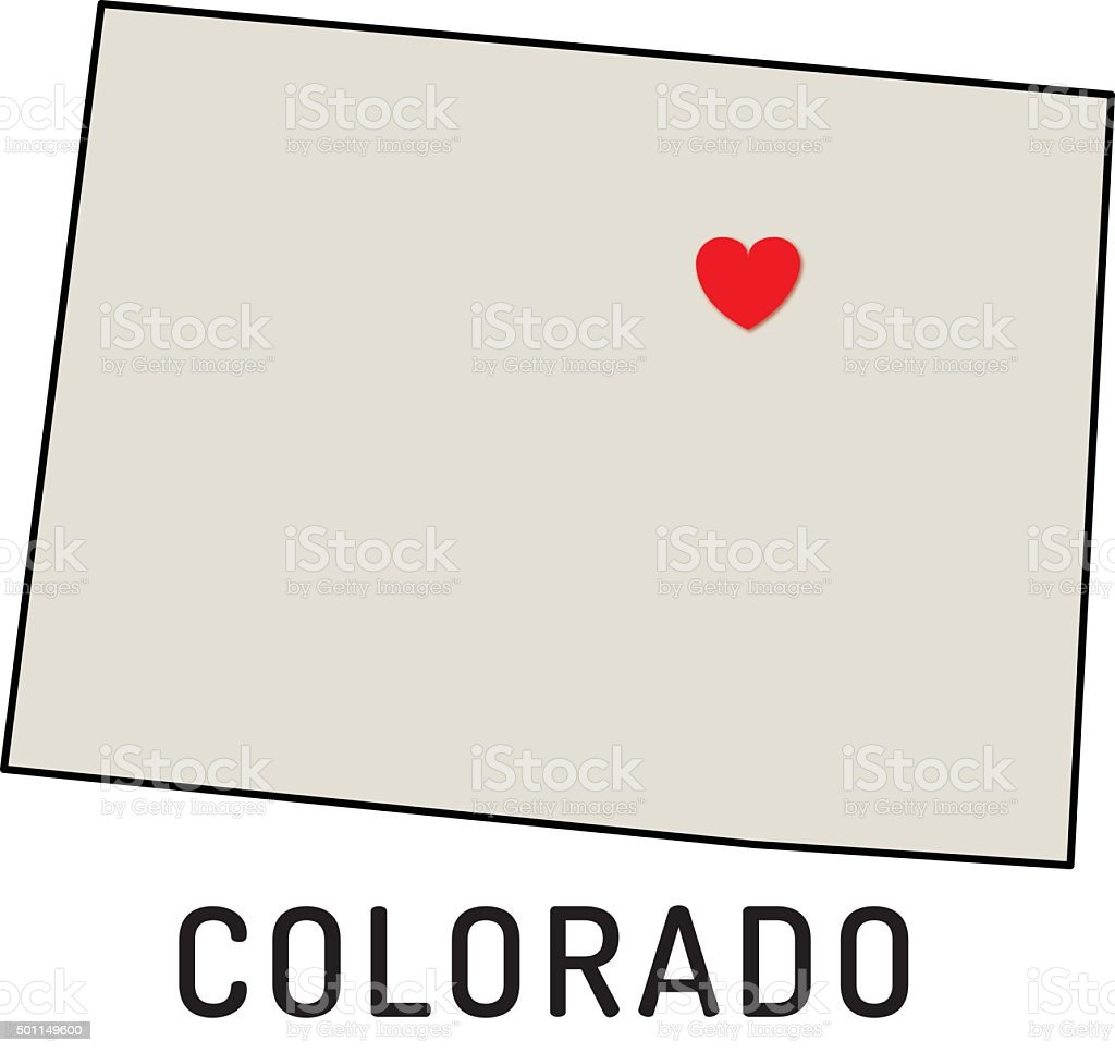 Delightful Love Colorado State Royalty Free Love Colorado State Stock Vector Art U0026amp;  More Images