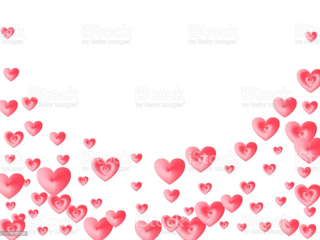 love concept hearts flying beautiful wallpaper vector id1175752237