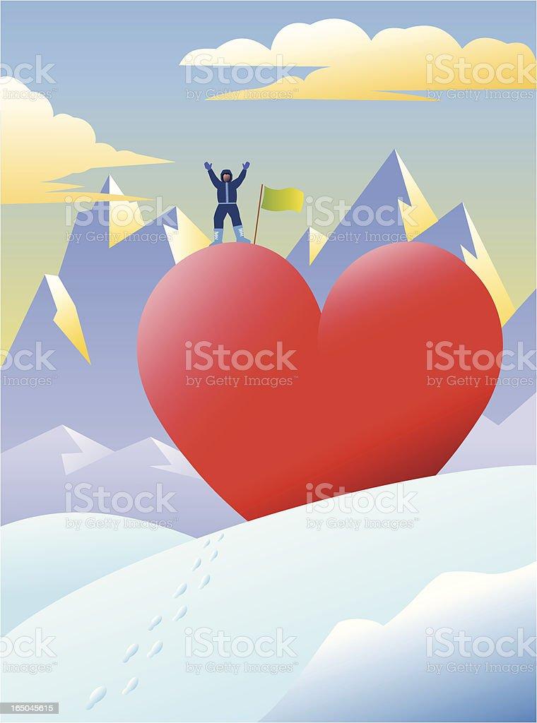 Love Conquest vector art illustration