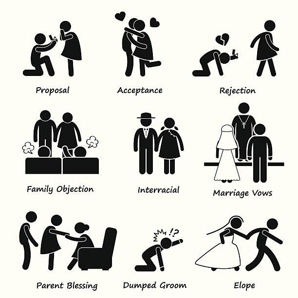 Royalty Free Forbidden Love Clip Art Vector Images Illustrations