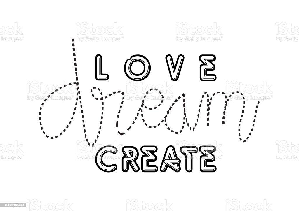 Vetores De Criar O Amor Inspira Citações Motivacionais E Mais Imagens De Amor