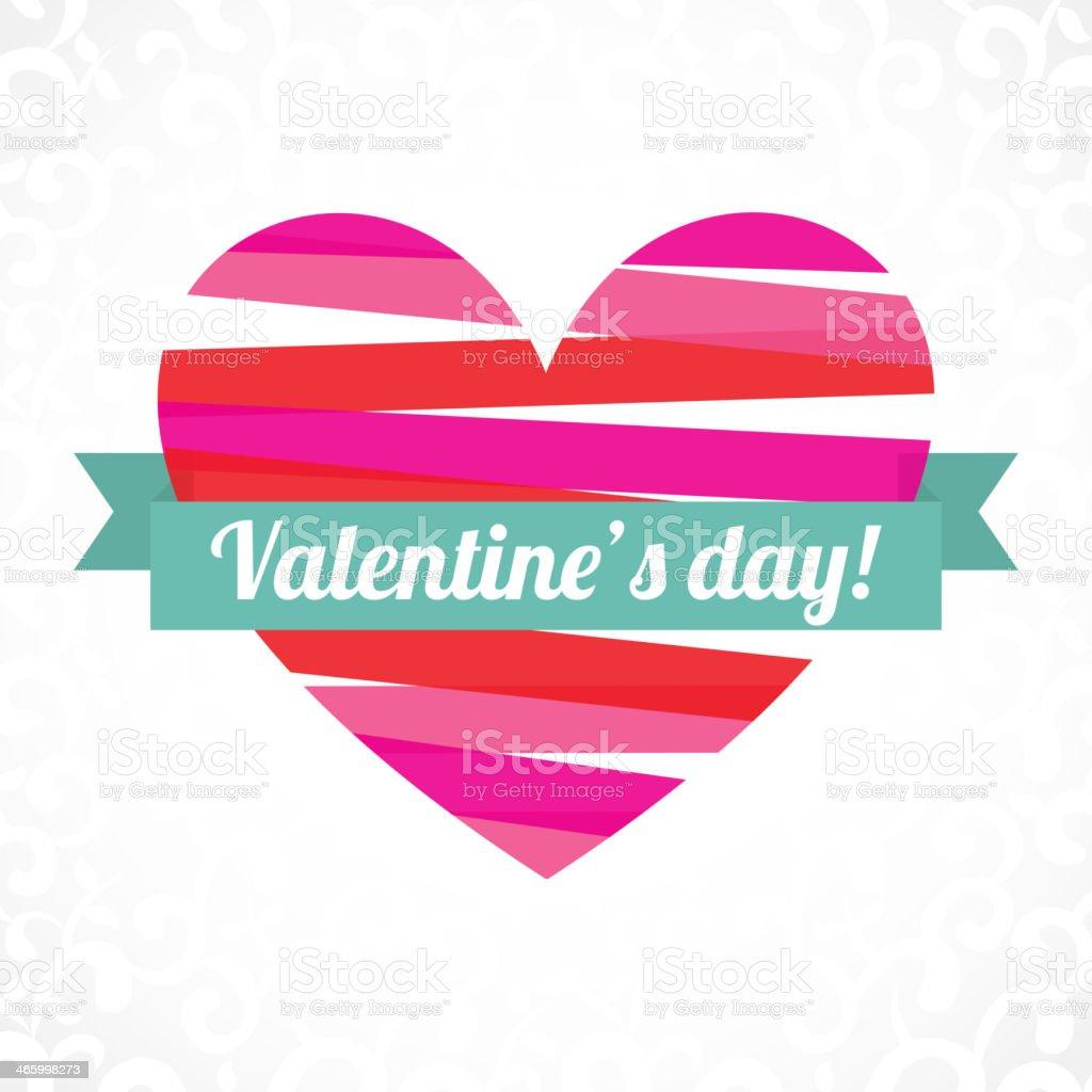 Love Design - Heart shape royalty-free stock vector art