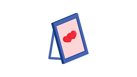 Love diary icon