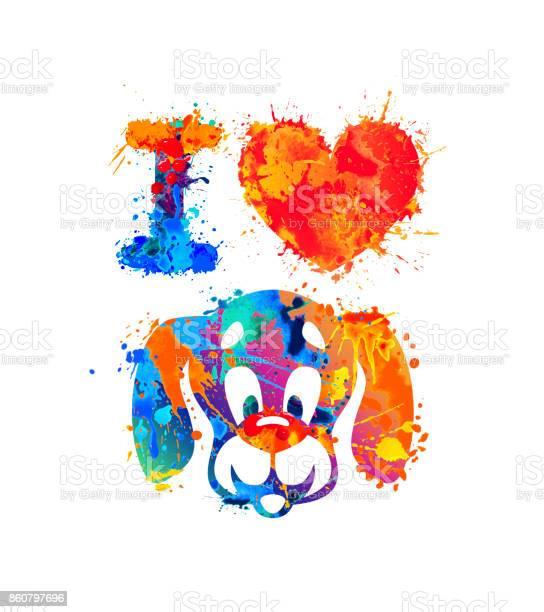 Love dog vector splash paint vector id860797696?b=1&k=6&m=860797696&s=612x612&h=gk vcyogfzt8uu4we4jrdfy5nyspaby62aiphd7mltq=