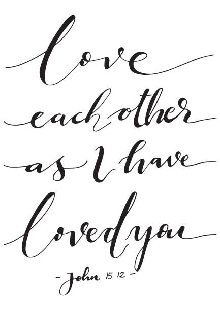 Love Each Other Clip Art: Best Bible Illustrations, Royalty-Free Vector Graphics