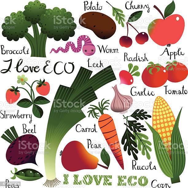 Love eco fruit and vegetables vector id474902324?b=1&k=6&m=474902324&s=612x612&h=dizpxp4samhf 2k6 mcswlwocrxcwidw7zp9qsjvxy4=