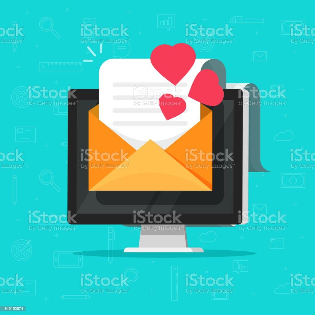 Erste E-Mails an Online-Dating