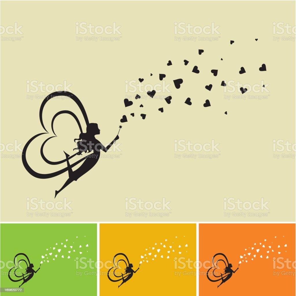 Ilustracion De Hadas De Amor Y Mas Banco De Imagenes De Adolescente