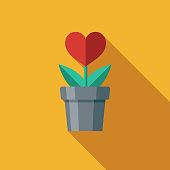 Love Flat Design Charity & Donation Icon