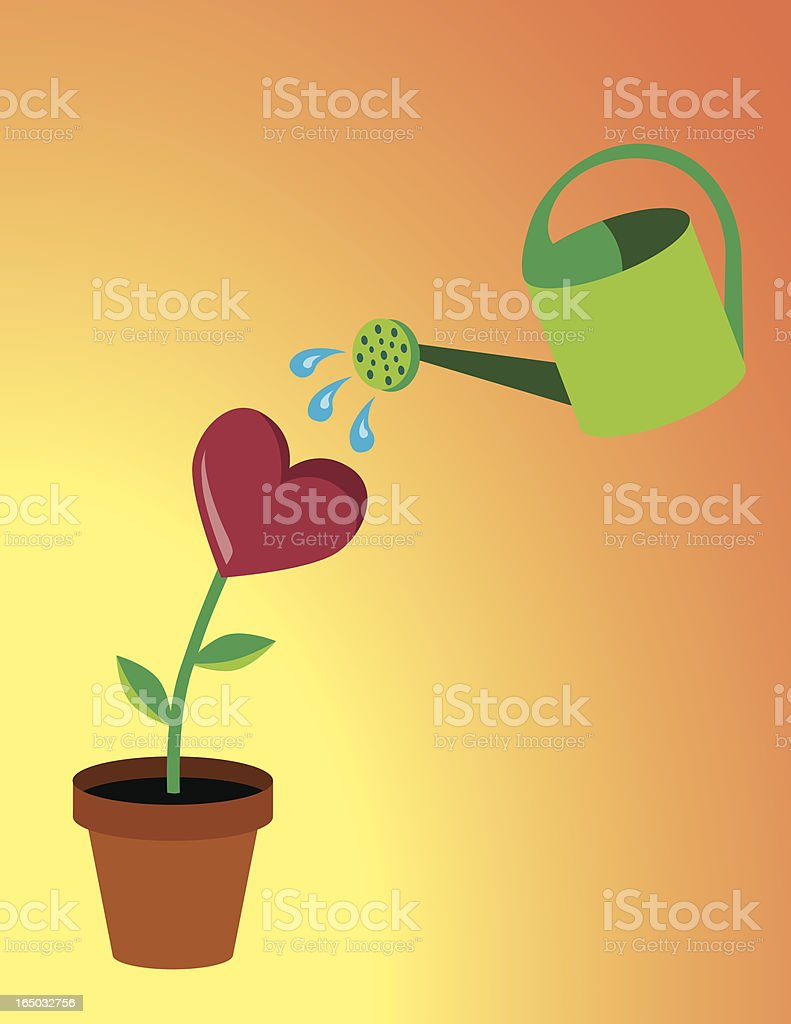Love Grows royalty-free love grows stock vector art & more images of bonding