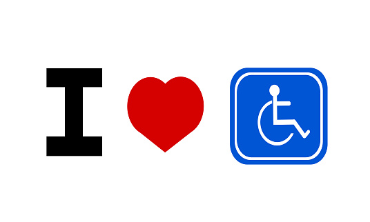 Handicap-love Love and