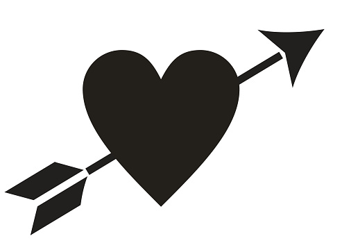 Download Love Heart Arrow Stock Illustration - Download Image Now ...