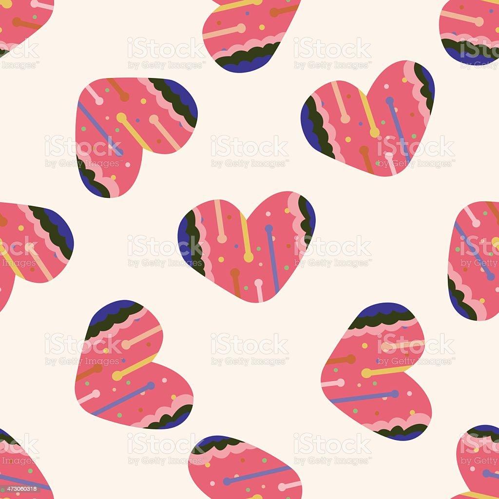 Ilustración De Amor Corazón Patrón Sin Costuras De Dibujos